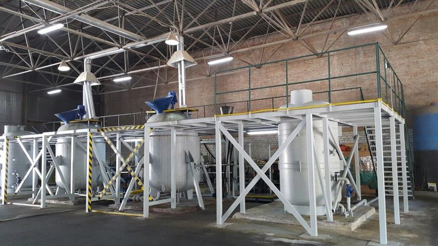 Установка КАС-ЖКУ по производству удобрений