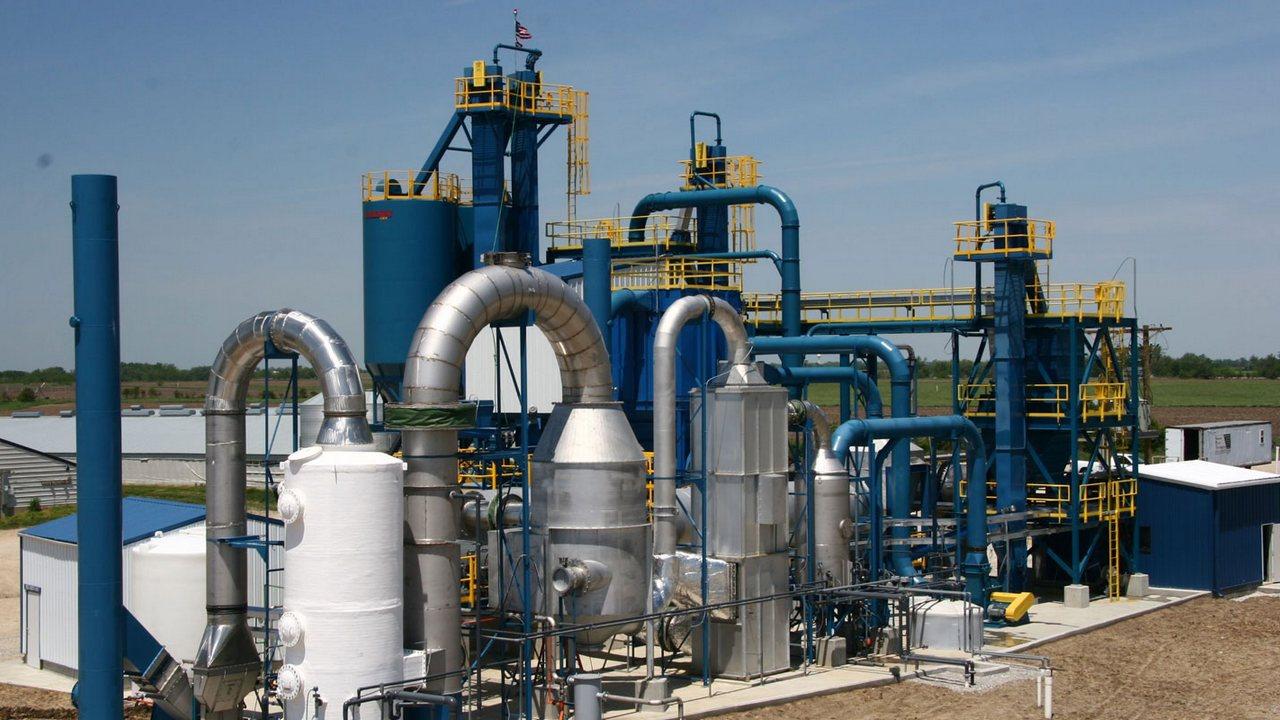 оборудование для производства карбамидо-аммиачных смесей